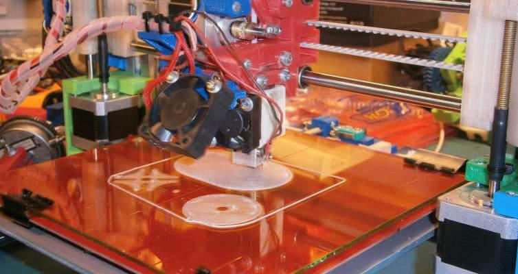 Stavba 3D tiskárny Rebel II