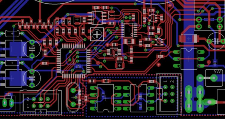 Laboratorní zdroj – 4. návrh modulu zdroje